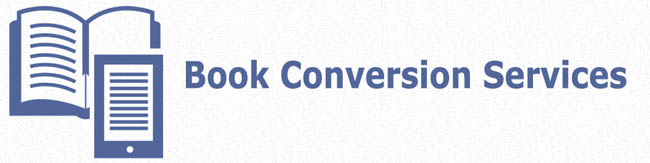 book conversion services