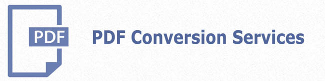 PDF conversion services