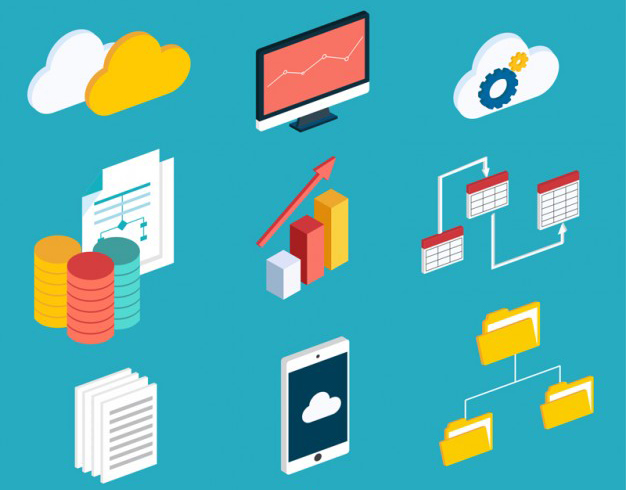 Data processing services for digitalized data