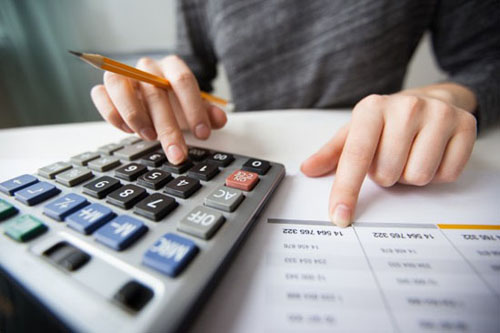Accounting related data entry service