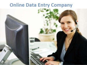 online data entry company