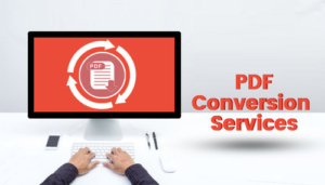 outsource PDF conversion services